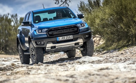 2019 Ford Ranger Raptor (Color: Performance Blue) Off-Road Wallpapers 450x275 (114)