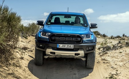 2019 Ford Ranger Raptor (Color: Performance Blue) Off-Road Wallpapers 450x275 (126)