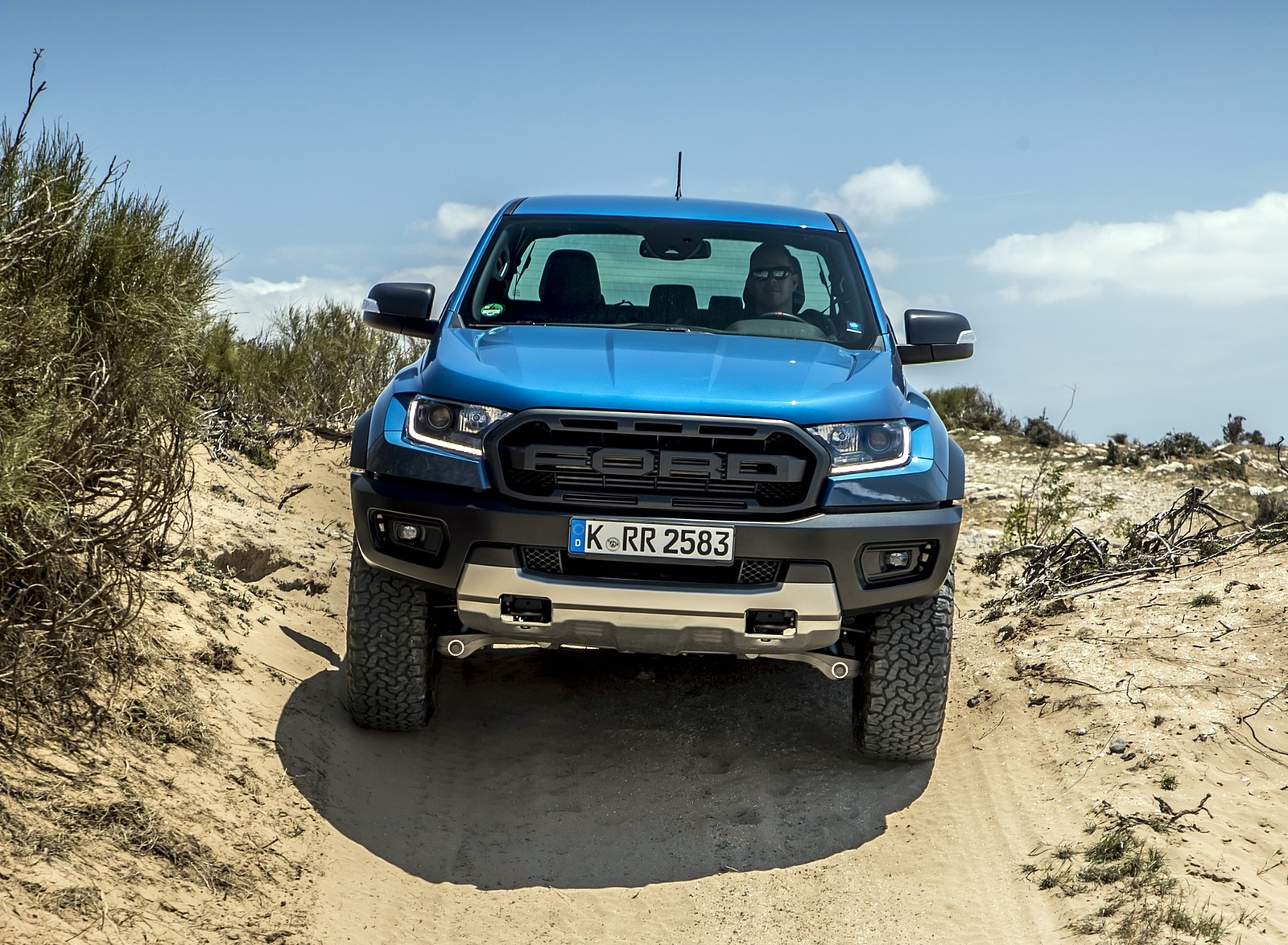 2019 Ford Ranger Raptor Color Performance Blue Off Road Wallpapers 126 Newcarcars