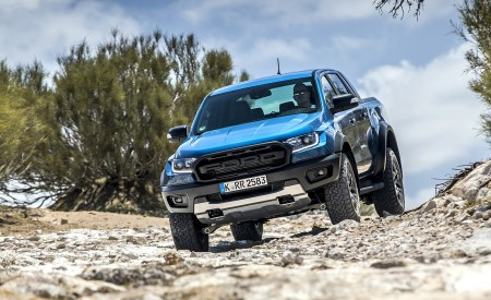 2019 Ford Ranger Raptor (Color: Performance Blue) Off-Road Wallpapers 450x275 (115)