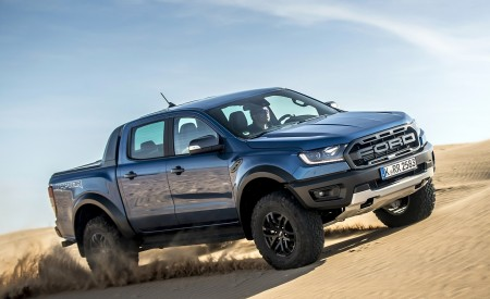 2019 Ford Ranger Raptor (Color: Performance Blue) Off-Road Wallpapers 450x275 (127)