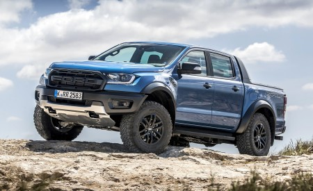 2019 Ford Ranger Raptor (Color: Performance Blue) Off-Road Wallpapers 450x275 (116)