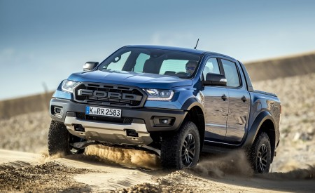 2019 Ford Ranger Raptor (Color: Performance Blue) Off-Road Wallpapers 450x275 (128)