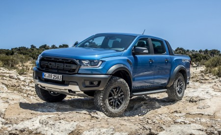2019 Ford Ranger Raptor (Color: Performance Blue) Off-Road Wallpapers 450x275 (117)