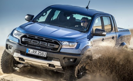 2019 Ford Ranger Raptor (Color: Performance Blue) Off-Road Wallpapers 450x275 (131)