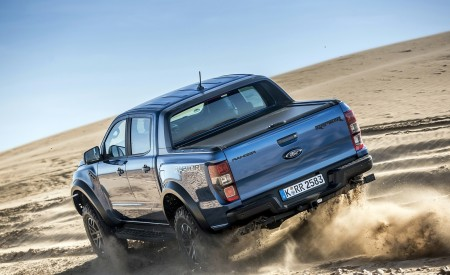 2019 Ford Ranger Raptor (Color: Performance Blue) Off-Road Wallpapers 450x275 (120)