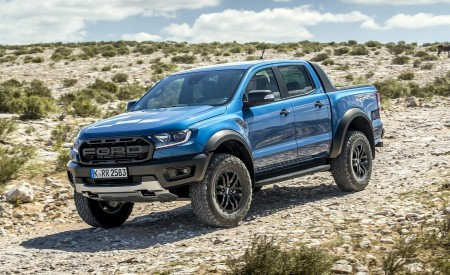 2019 Ford Ranger Raptor (Color: Performance Blue) Off-Road Wallpapers 450x275 (104)