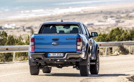 2019 Ford Ranger Raptor (Color: Performance Blue) Rear Wallpapers 450x275 (106)