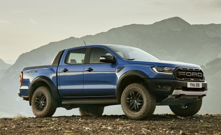 2019 Ford Ranger Raptor Front Three-Quarter Wallpapers 450x275 (175)