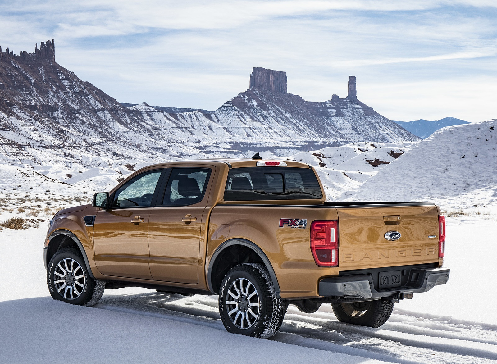 2019 Ford Ranger Rear Three-Quarter Wallpapers (11)