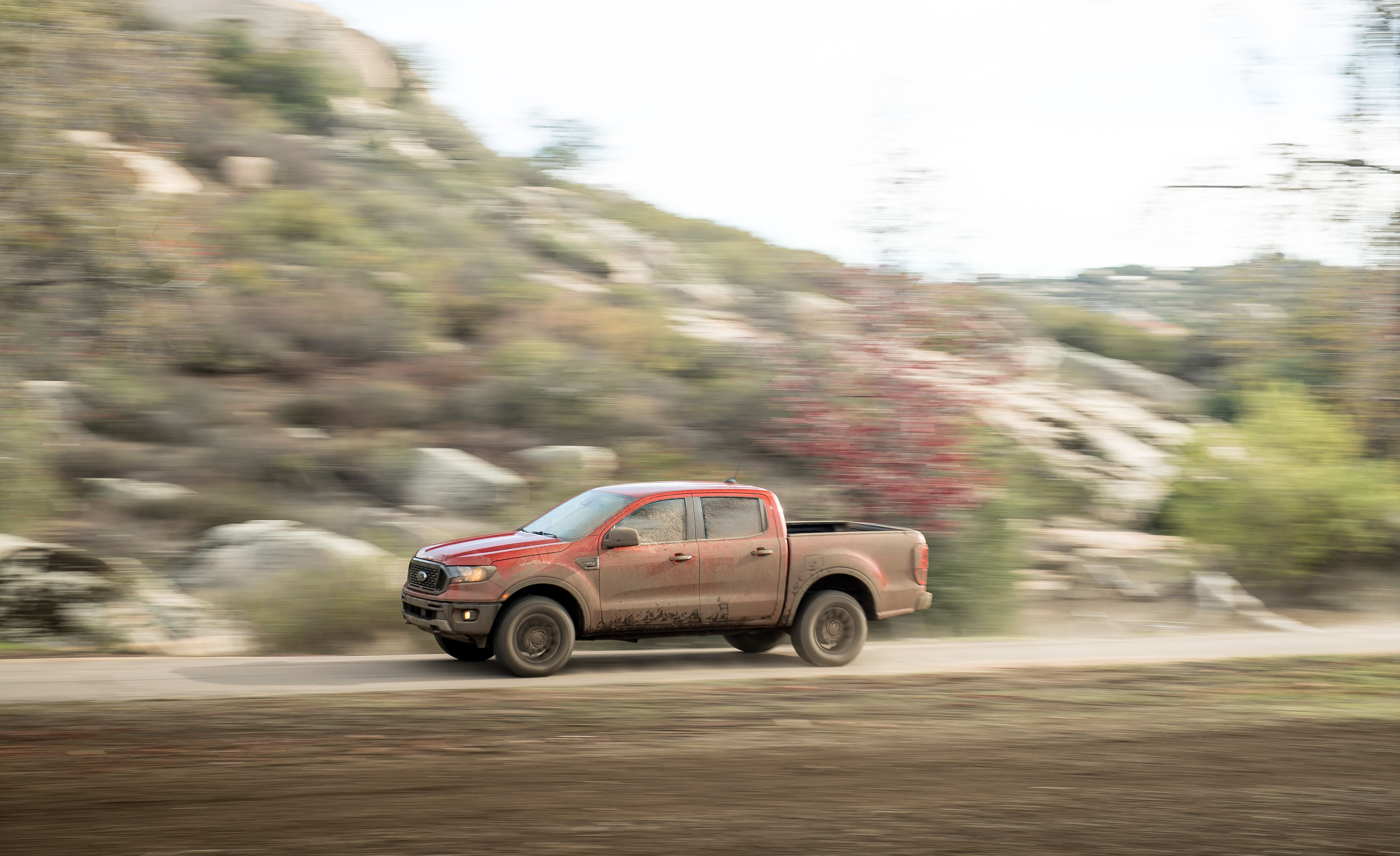 2019 Ford Ranger Side Wallpapers (3)