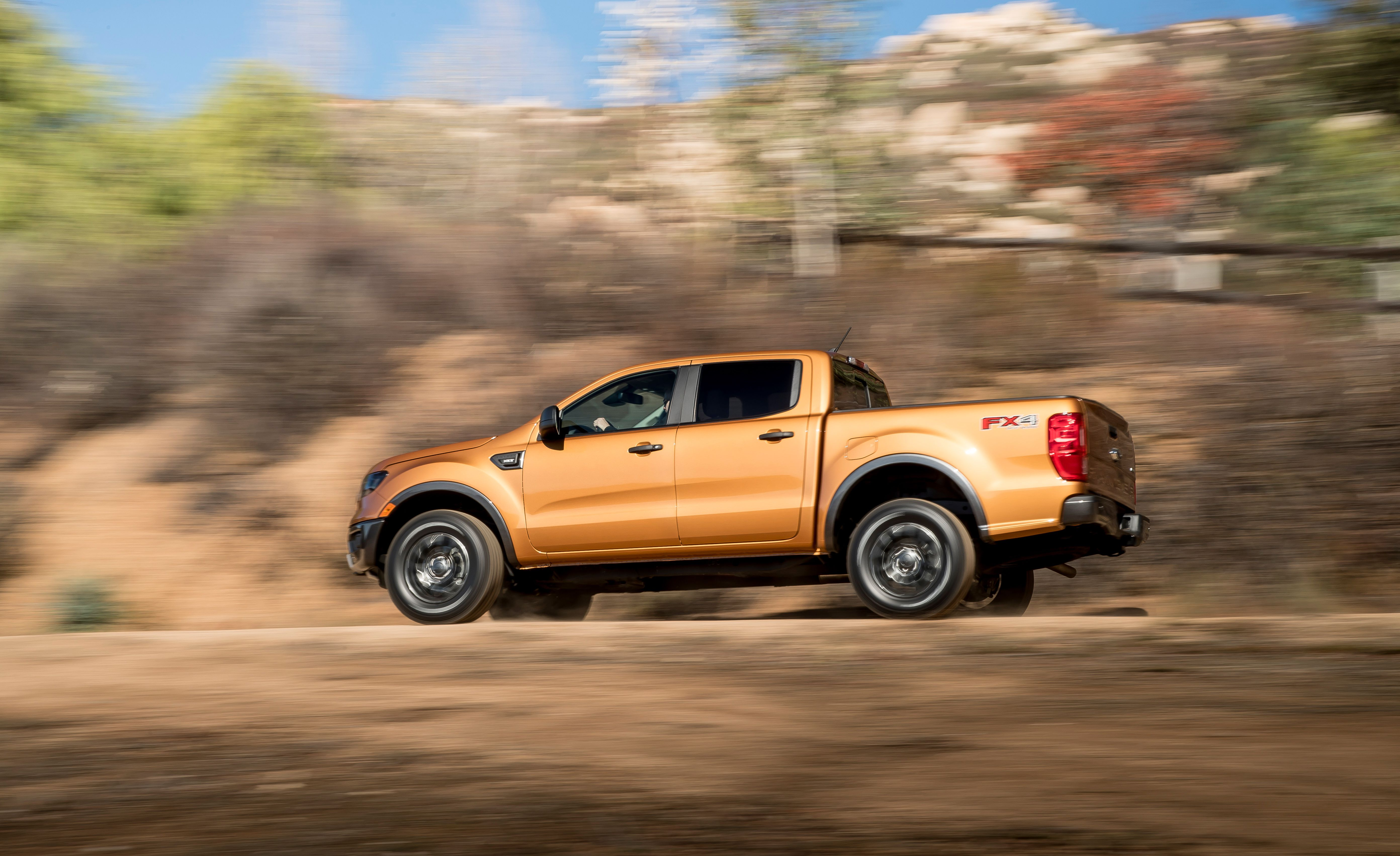 2019 Ford Ranger Side Wallpapers (2)