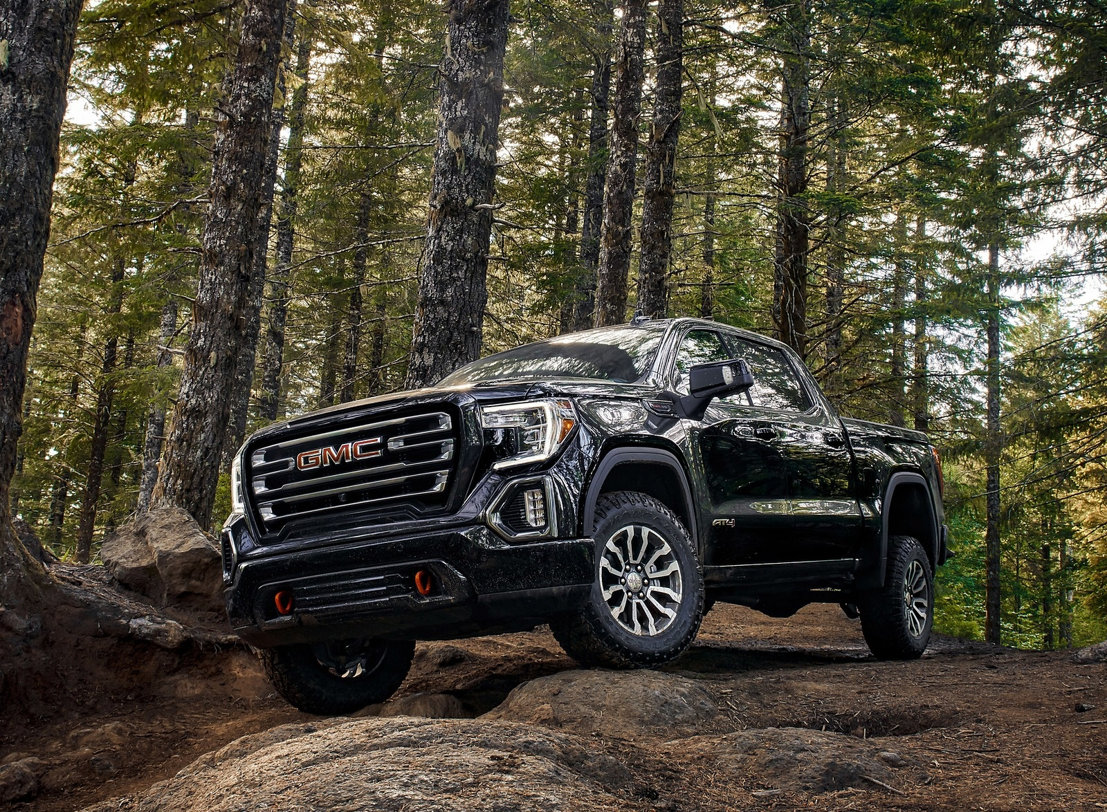 2019 Gmc Sierra At4 Front Three Quarter Wallpapers 21