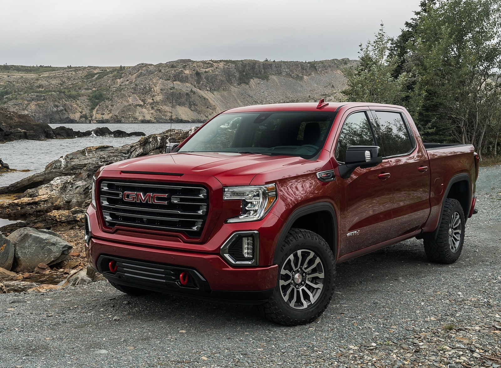 2019 GMC Sierra AT4 Front Three-Quarter Wallpapers (8)