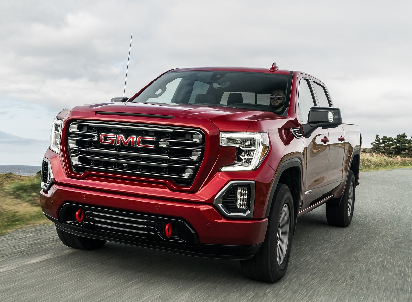 2019 GMC Sierra AT4 Front Three-Quarter Wallpapers (1)