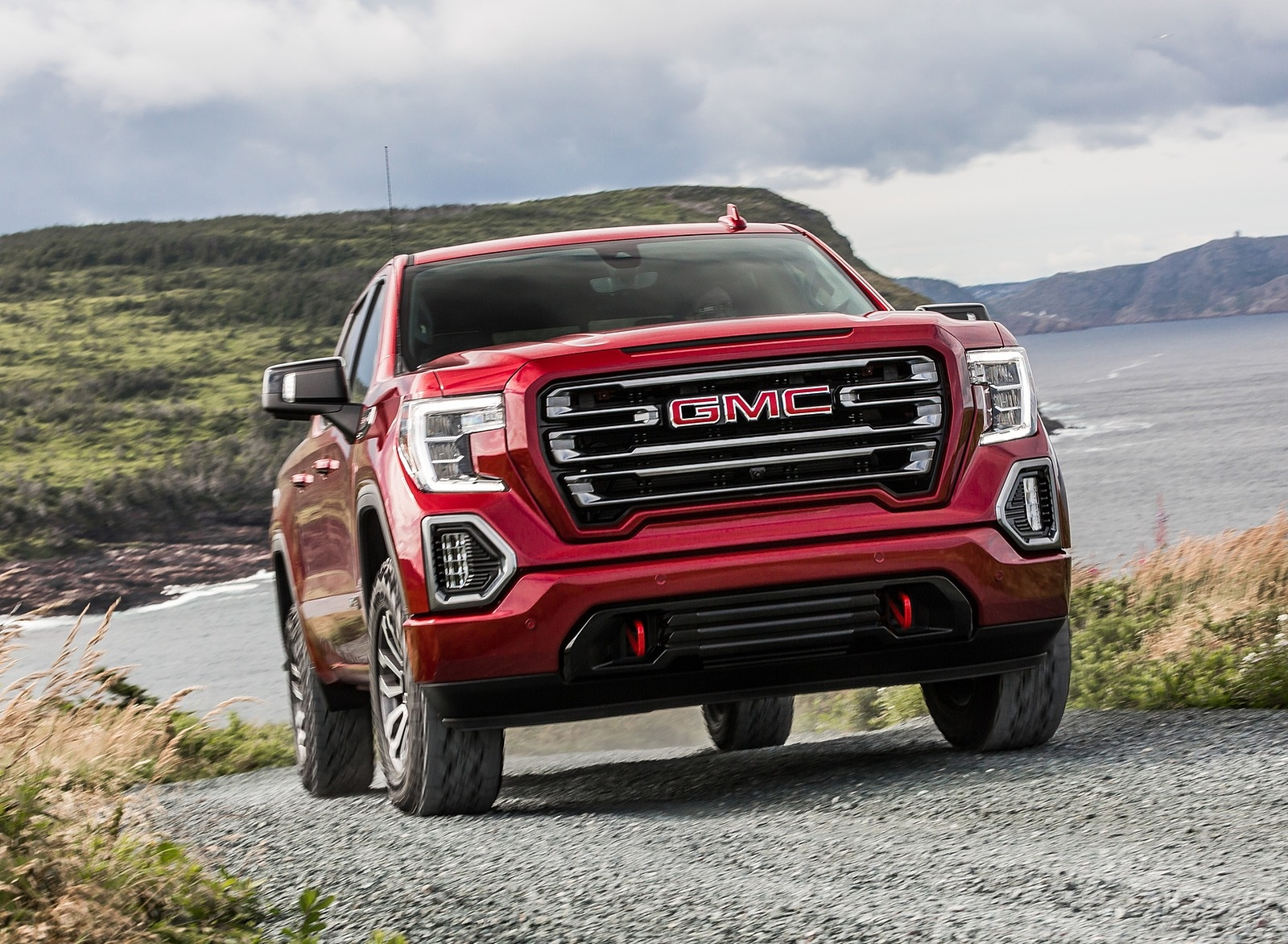 2019 GMC Sierra AT4 Front Wallpapers (6)