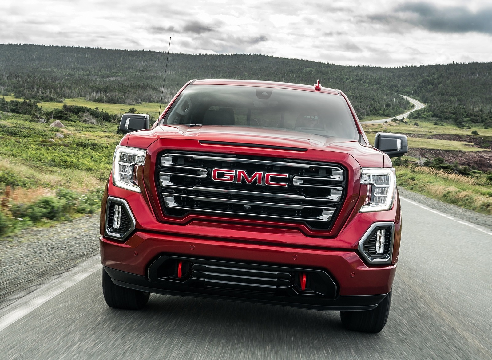 2019 GMC Sierra AT4 Front Wallpapers (3)