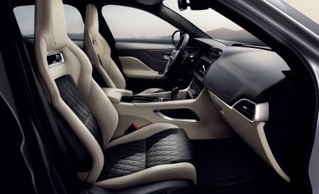 2019 Jaguar F-PACE SVR Interior Front Seats Wallpapers 450x275 (97)