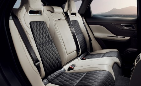 2019 Jaguar F-PACE SVR Interior Rear Seats Wallpapers 450x275 (96)