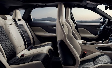 2019 Jaguar F-PACE SVR Interior Seats Wallpapers 450x275 (95)