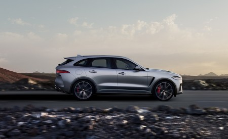 2019 Jaguar F-PACE SVR Side Wallpapers 450x275 (75)