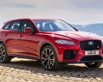 2019 Jaguar F-Pace SVR (Color: Firenze Red) Front Three-Quarter Wallpapers 150x120 (41)