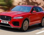 2019 Jaguar F-Pace SVR (Color: Firenze Red) Front Three-Quarter Wallpapers 150x120 (31)