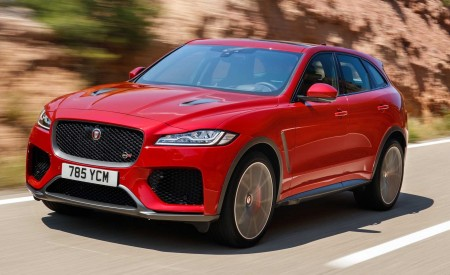 2019 Jaguar F-Pace SVR (Color: Firenze Red) Front Three-Quarter Wallpapers 450x275 (31)