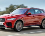 2019 Jaguar F-Pace SVR (Color: Firenze Red) Front Three-Quarter Wallpapers 150x120 (19)