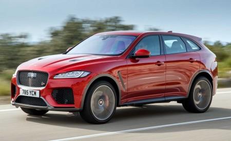 2019 Jaguar F-Pace SVR (Color: Firenze Red) Front Three-Quarter Wallpapers 450x275 (19)