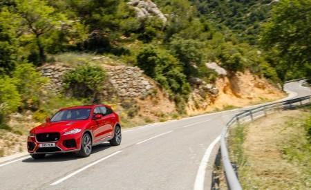 2019 Jaguar F-Pace SVR (Color: Firenze Red) Front Three-Quarter Wallpapers 450x275 (32)