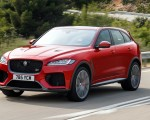2019 Jaguar F-Pace SVR (Color: Firenze Red) Front Three-Quarter Wallpapers 150x120 (20)