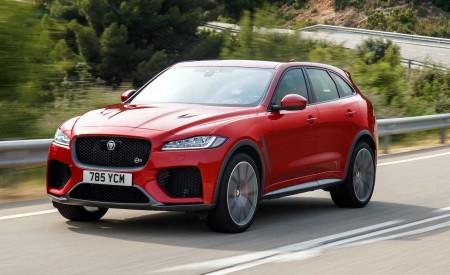 2019 Jaguar F-Pace SVR (Color: Firenze Red) Front Three-Quarter Wallpapers 450x275 (20)