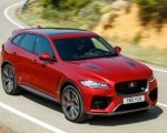 2019 Jaguar F-Pace SVR (Color: Firenze Red) Front Three-Quarter Wallpapers 150x120 (33)