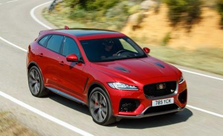 2019 Jaguar F-Pace SVR (Color: Firenze Red) Front Three-Quarter Wallpapers 450x275 (33)