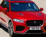 2019 Jaguar F-Pace SVR (Color: Firenze Red) Front Three-Quarter Wallpapers 150x120 (21)
