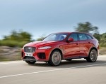 2019 Jaguar F-Pace SVR (Color: Firenze Red) Front Three-Quarter Wallpapers 150x120 (4)