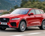 2019 Jaguar F-Pace SVR (Color: Firenze Red) Front Three-Quarter Wallpapers 150x120 (34)