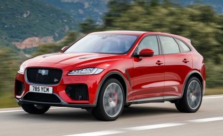 2019 Jaguar F-Pace SVR (Color: Firenze Red) Front Three-Quarter Wallpapers 450x275 (34)