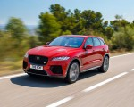 2019 Jaguar F-Pace SVR (Color: Firenze Red) Front Three-Quarter Wallpapers 150x120 (5)