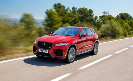 2019 Jaguar F-Pace SVR (Color: Firenze Red) Front Three-Quarter Wallpapers 450x275 (5)