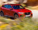 2019 Jaguar F-Pace SVR (Color: Firenze Red) Front Three-Quarter Wallpapers 150x120 (35)