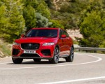 2019 Jaguar F-Pace SVR (Color: Firenze Red) Front Three-Quarter Wallpapers 150x120 (22)