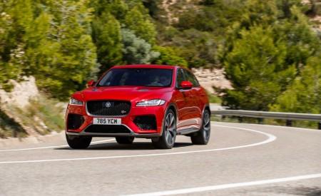 2019 Jaguar F-Pace SVR (Color: Firenze Red) Front Three-Quarter Wallpapers 450x275 (22)