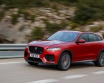 2019 Jaguar F-Pace SVR (Color: Firenze Red) Front Three-Quarter Wallpapers 150x120 (6)
