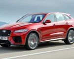 2019 Jaguar F-Pace SVR (Color: Firenze Red) Front Three-Quarter Wallpapers 150x120 (2)