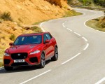 2019 Jaguar F-Pace SVR (Color: Firenze Red) Front Wallpapers 150x120 (38)