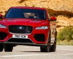 2019 Jaguar F-Pace SVR (Color: Firenze Red) Front Wallpapers 150x120 (36)