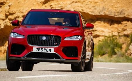 2019 Jaguar F-Pace SVR (Color: Firenze Red) Front Wallpapers 450x275 (36)