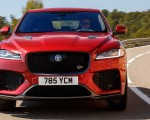 2019 Jaguar F-Pace SVR (Color: Firenze Red) Front Wallpapers 150x120 (23)